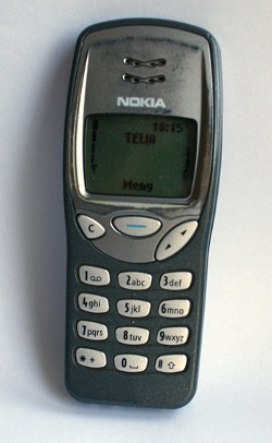 Min gamla mobil