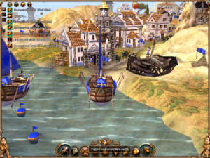 Hamn i Settlers 2 10th Anniversary