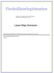 Lasse-Majas leg
