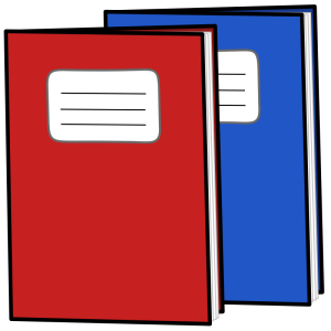 Övningsbok och skrivhäfte